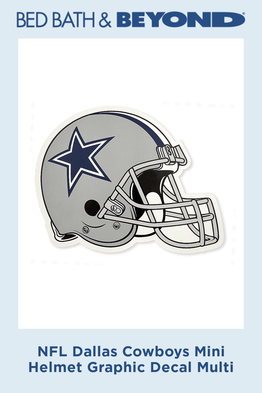 Nfl Dallas Cowboys Mini Helmet Graphic Decal Multi Nfl Dallas Cowboys Dallas Cowboys Nfl
