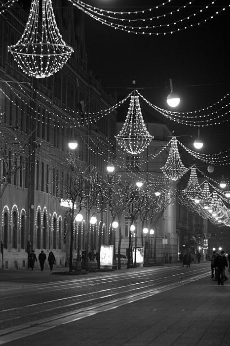 Zagreb In Winter By Vail Joy Zagreb Zagreb Croatia Winter Photograph