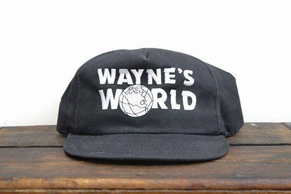 6a4fd12bcad73 Genuine Vintage 90 s Promotional Wayne s World Garth Wayne Movie ...