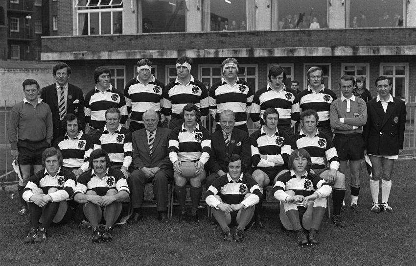 1973 Barbarians v New Zealand Rugby men, Irish rugby