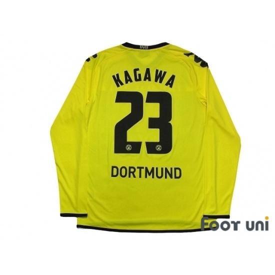size 40 f4d65 ed1e1 Borussia Dortmund 2011-2012 Home Long Sleeve Shirt #23 ...