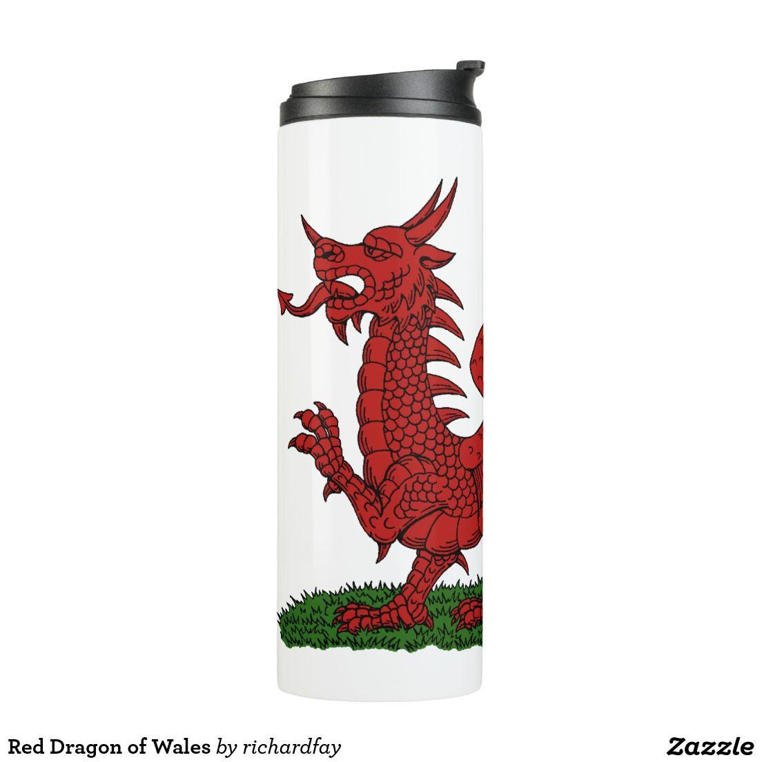 Red Dragon Of Wales Thermal Tumbler Zazzle Com Custom Tumblers Red Dragon Tumbler [ 1104 x 1104 Pixel ]