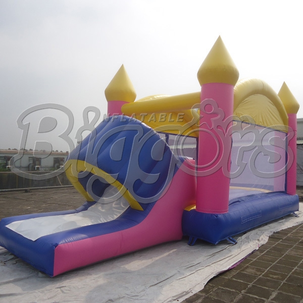 1400.00$  Buy now - http://alit9y.worldwells.pw/go.php?t=32255309974 - FREE SHIPPING BY SEA Hot Selling Inflatable Bouncer Inflatable Trampoline With Inflatable Slide Combo