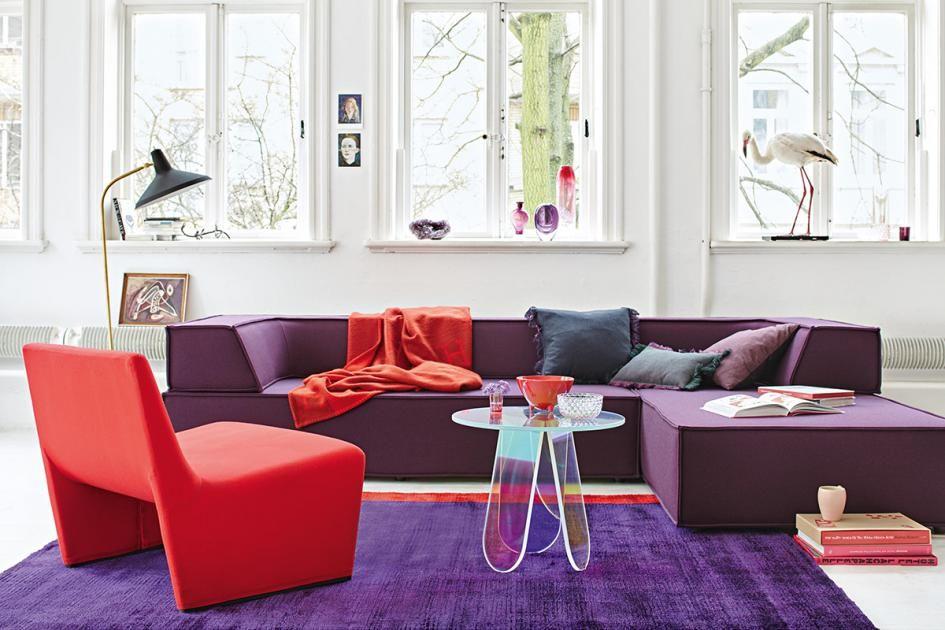 Wohnen mit Farben - Einrichten mit Rot, Rosa und Koralle ...