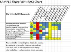 Download RACI Matrix Template XLS For Project Management Microsoft Excel And Software