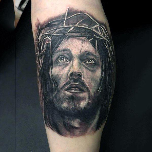 30 Revere Jesus Christ Tattoo Designs Amazing Tattoo Ideas Jesus Tattoo Jesus Christ Tattoo Christ Tattoo