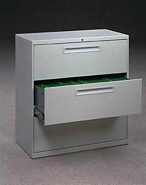 30w 3 drawer lateral file with lock 689 00 30w x 18d x 39