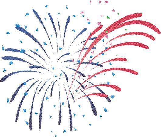 Fireworks cartoon. Firework clip art clipart