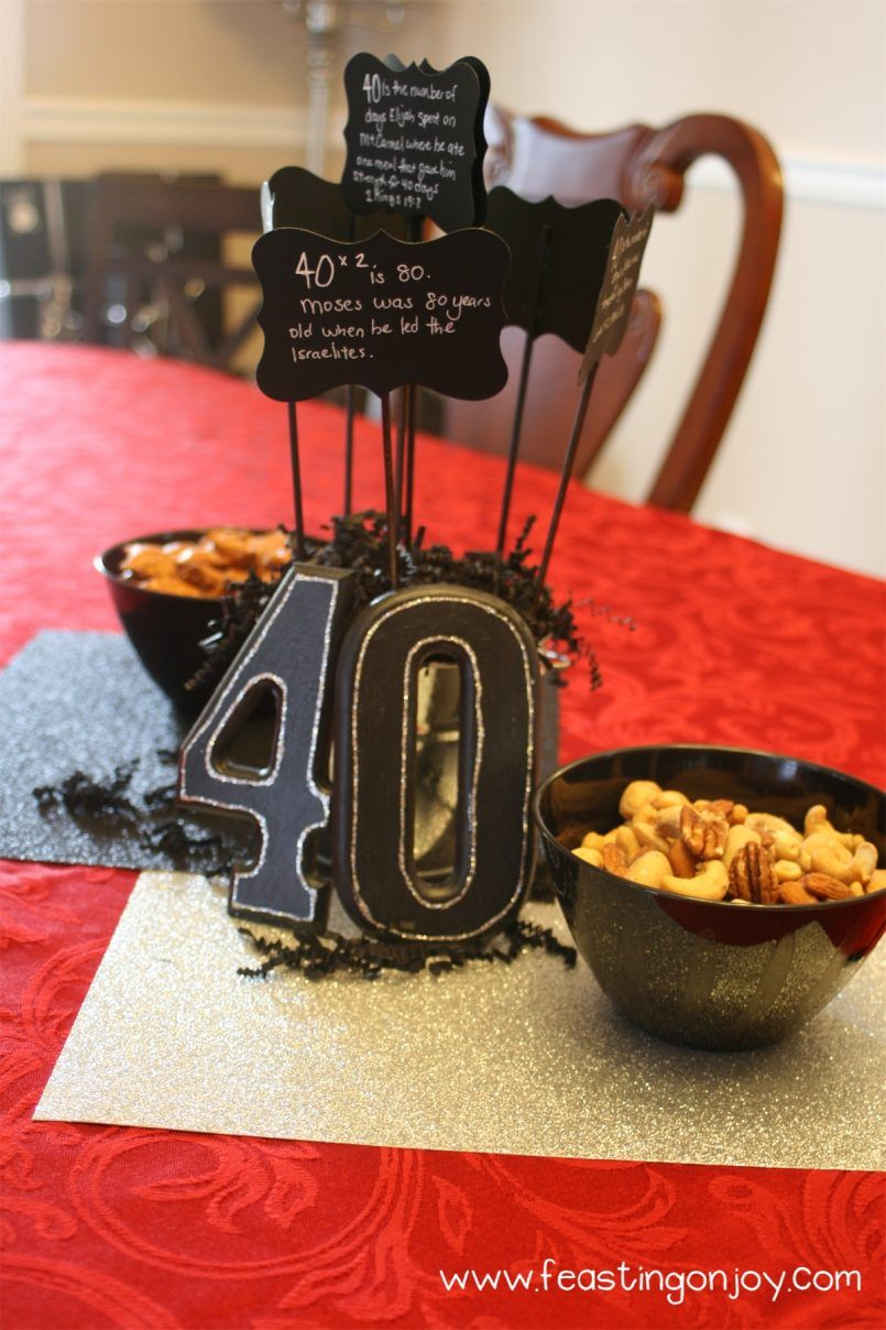 Themes Birthday40th Birthday Party Ideas For Husband At Home With