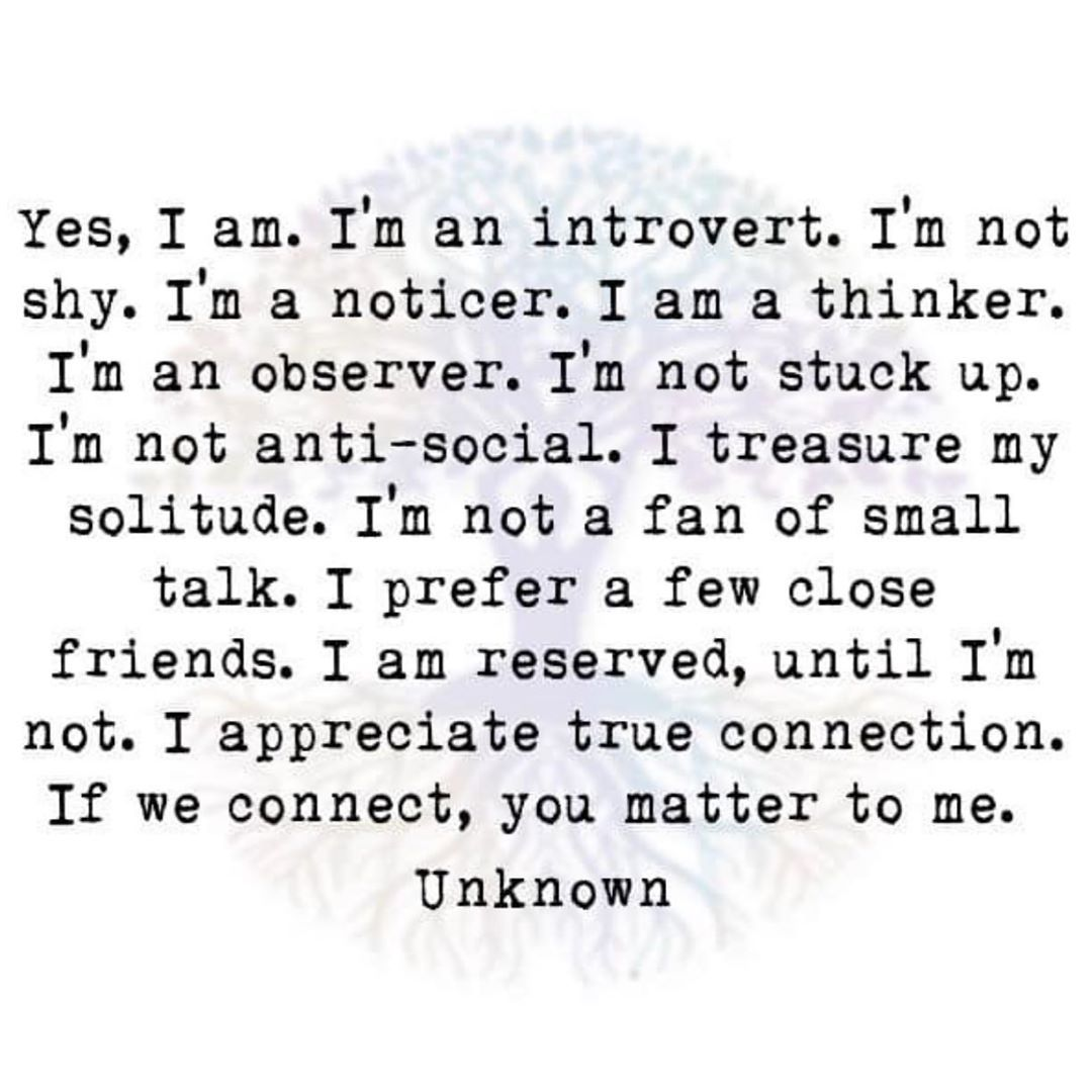 "Introverts Are Us on Instagram: ""Pure facts!"