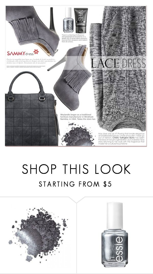 """""""Grey Motion"""" by lucky-1990 ❤ liked on Polyvore featuring Essie and NARS Cosmetics"""