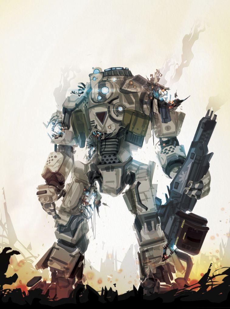 cool mech suit robot