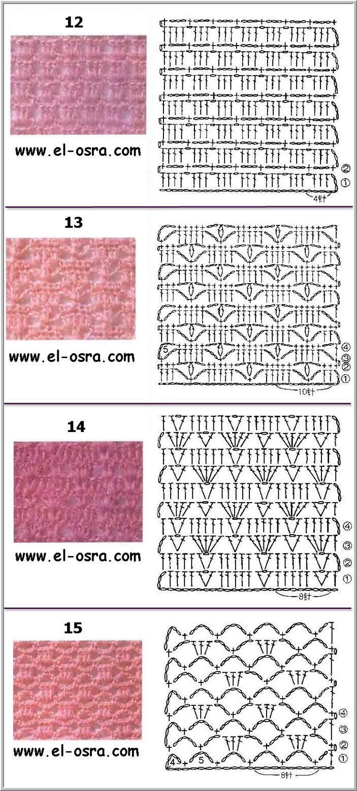 موسوعه غرز كروشيه بالباترون صورغرز كروشية بالبترون Ghorazgededa3 Jpg Crochet Chart Crochet Patterns Crochet Borders