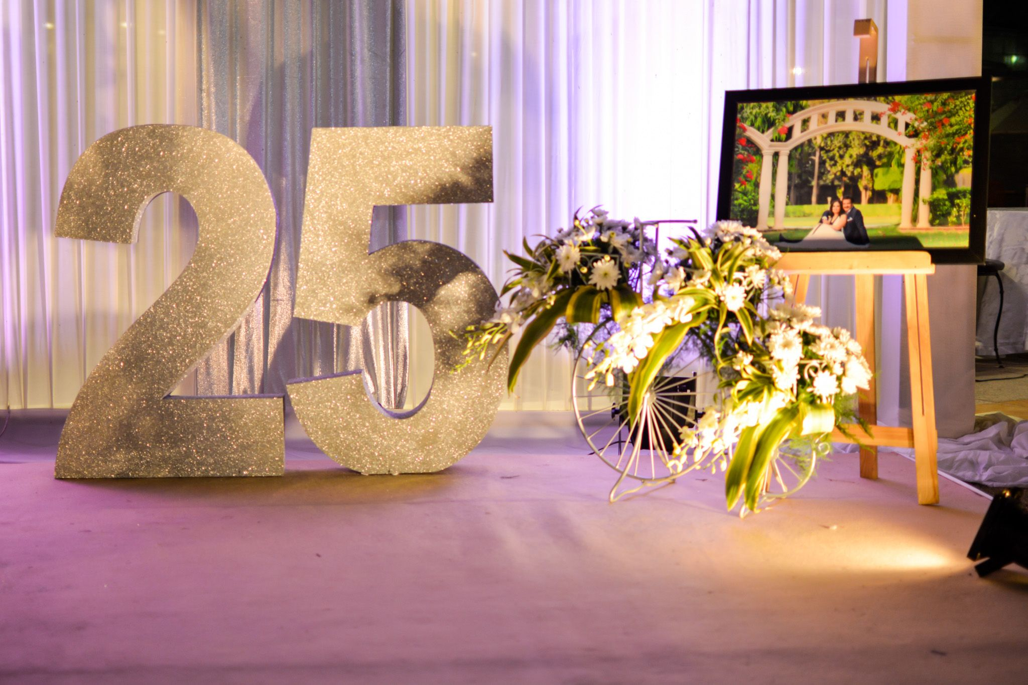 Anniversary Decoration Ideas Silver Jubilee Decor Ideas 25th