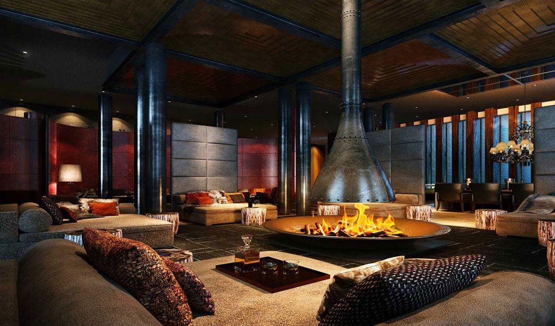 Chedi Andermatt Hotel Switzerland photos - Swide   Fireplace ...