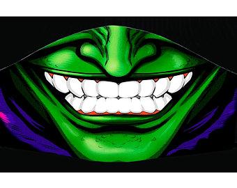 Smile Mask Etsy Joker Poster Mask Cat Face Mask