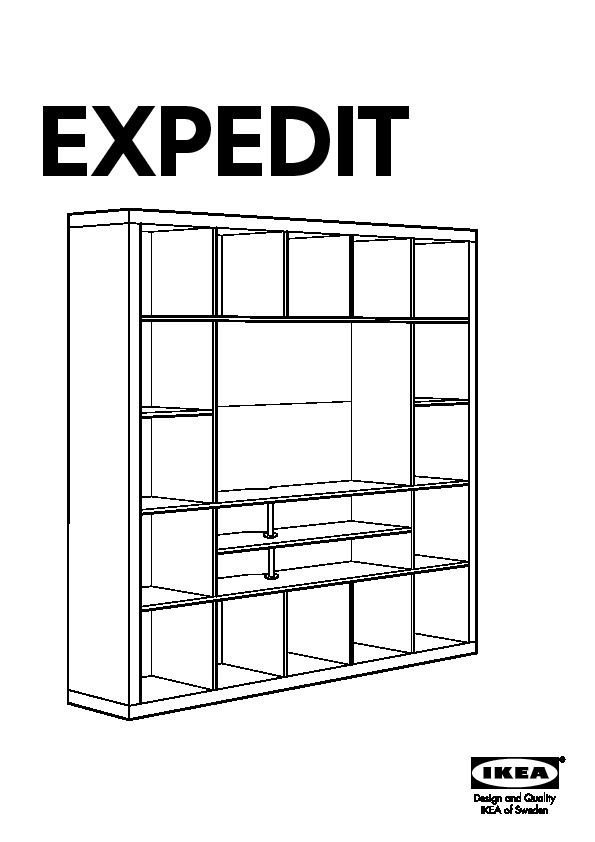 Plan De Montage Meuble Tv Expedit Ikea  Expedit Tv Storage Unit
