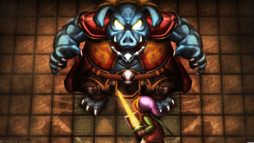 Link Vs Gannon The Legend Of Zelda A Link To The Past Zelda