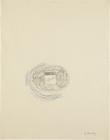 Cy Twombly, Reflection