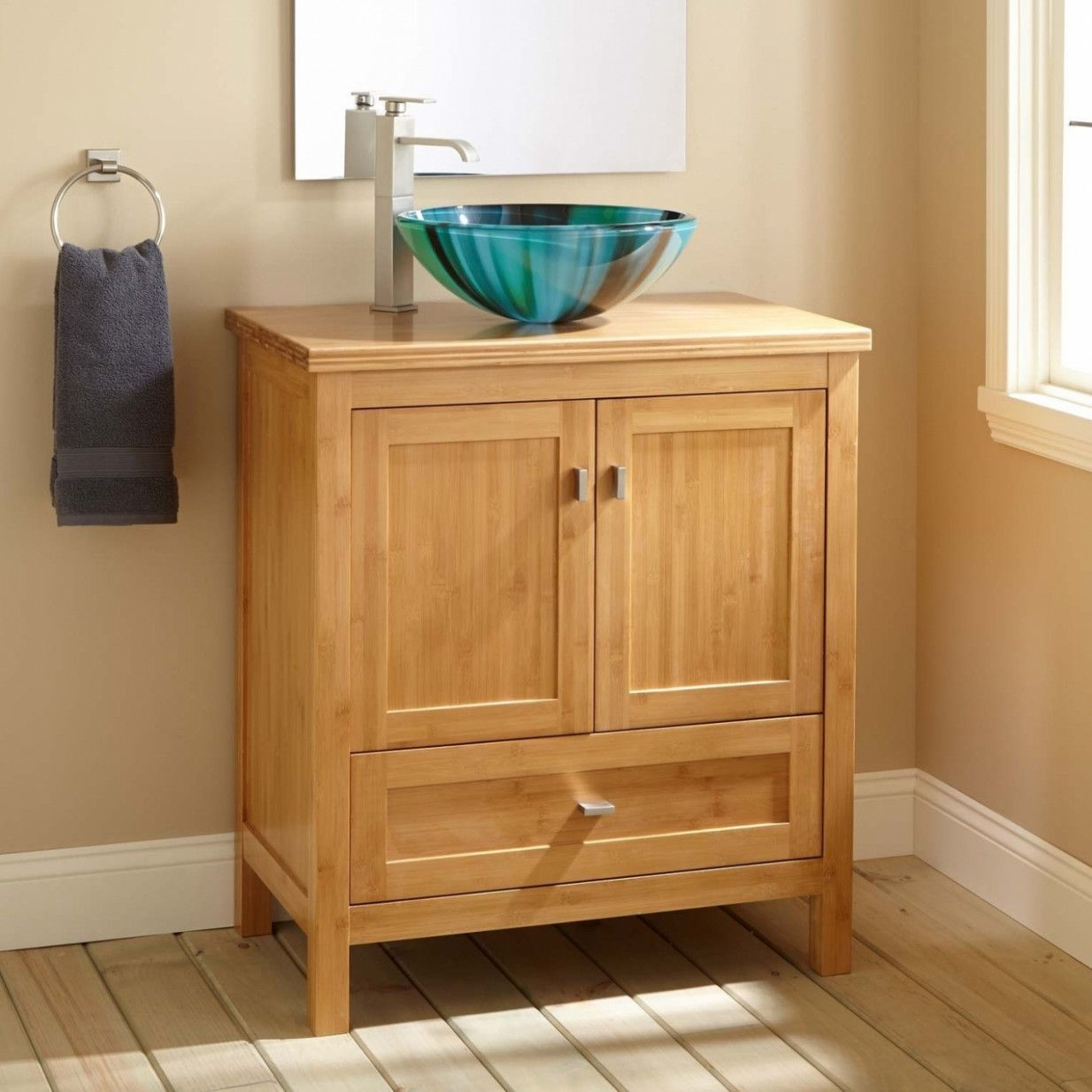 70 Unfinished Wood Bathroom Vanity Cabinets Best Paint For