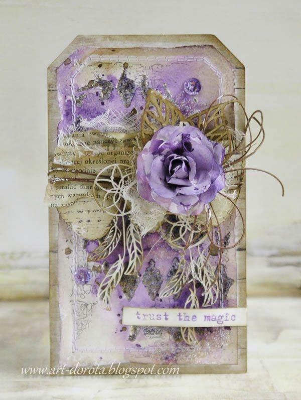 Dorota_mk | Tag art, Card tags