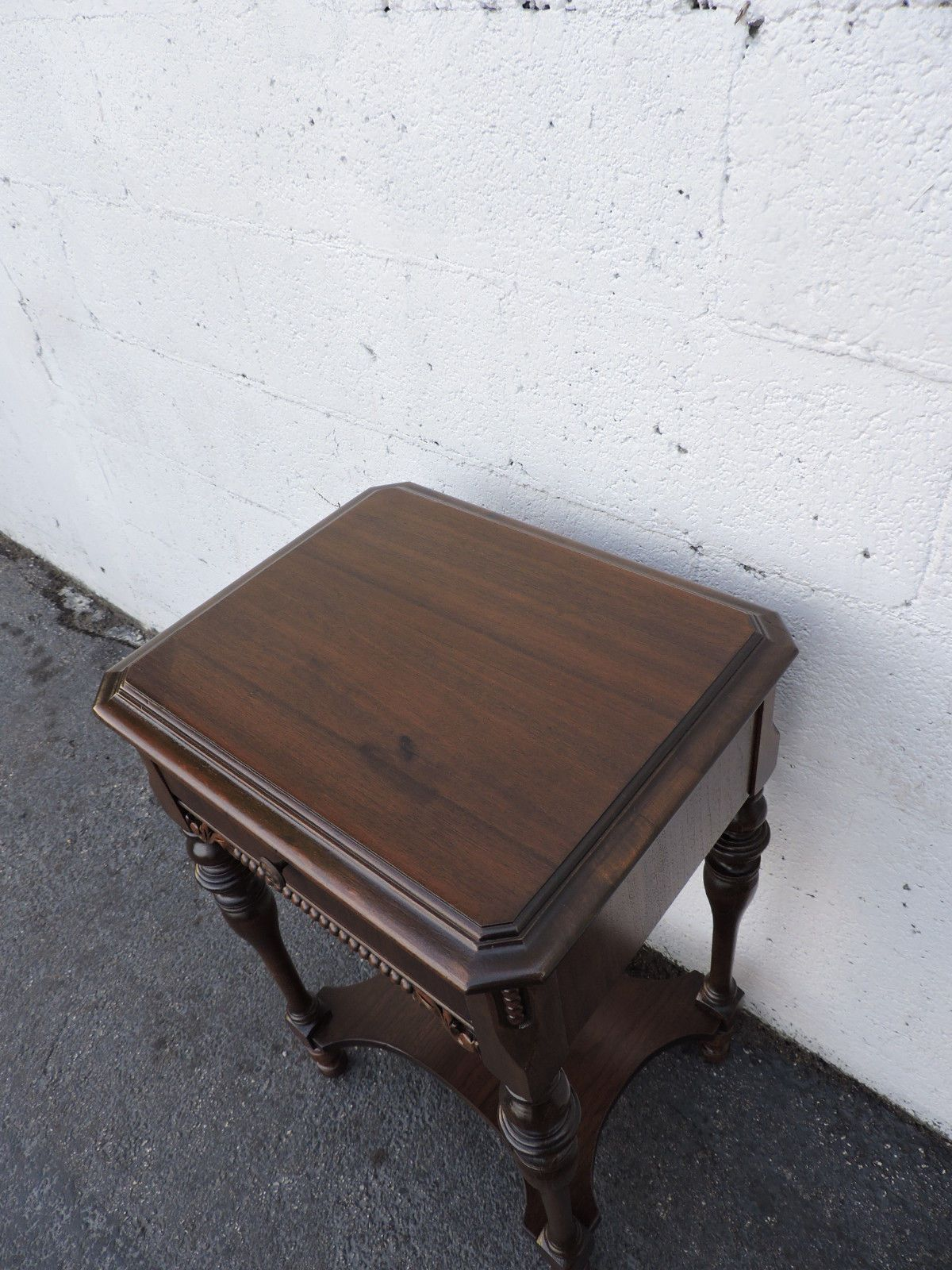 Early 1900s Nightstand Side End Table 8314 eBay