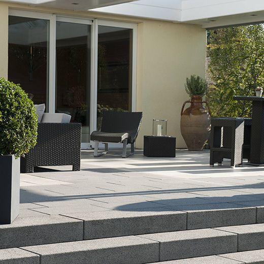 bildergebnis f r terrassenstufen ideen terrassen. Black Bedroom Furniture Sets. Home Design Ideas