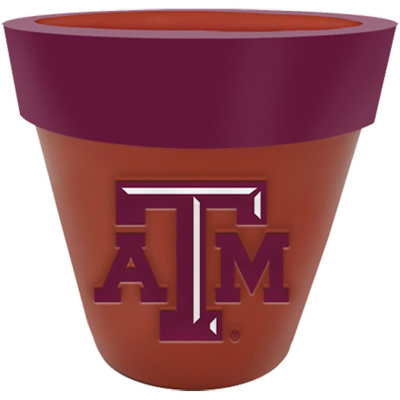Texas A M Aggies Team Planter Flower Pot Flower Planters Flower