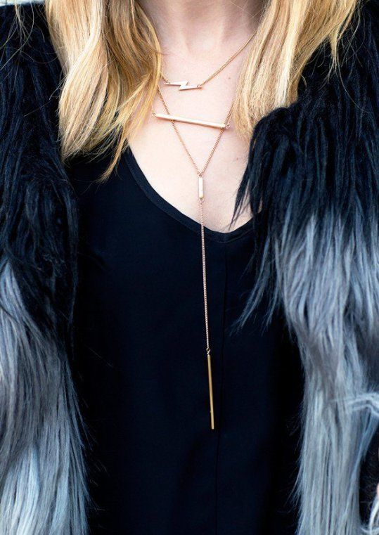 How to Do Necklace Layering<3