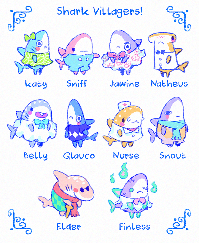 Shark Villagers Ideas By Https Www Deviantart Com Astral Requin