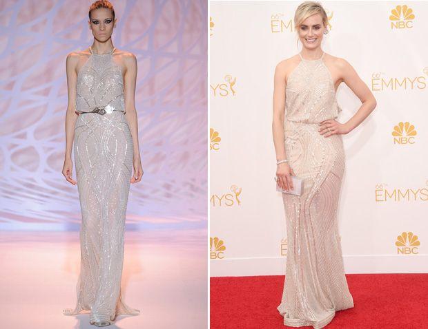 Taylor Schilling In Zuhair Murad – 2014 Emmy Awards