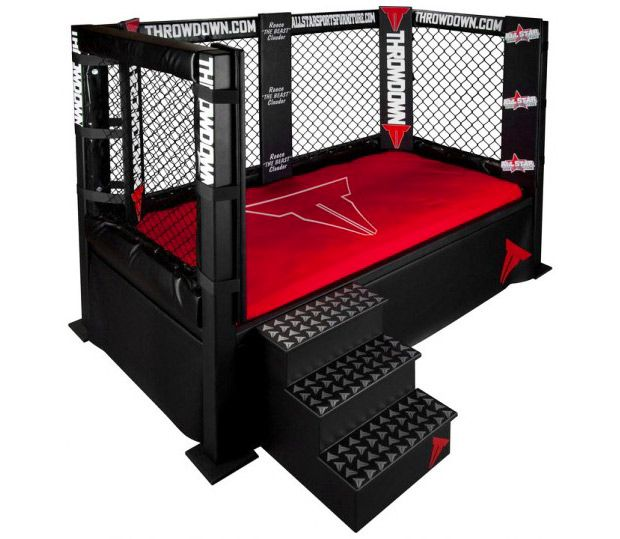 MMA Throwdown Bed - pretty sure my husband wants this for our little guy.
