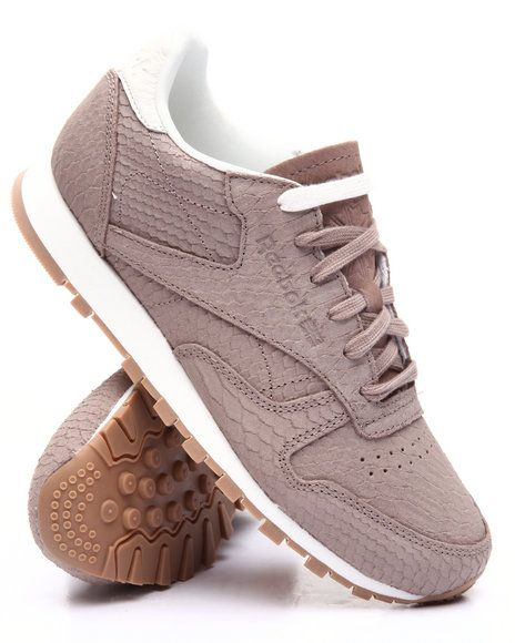 12a6b98777f0 Find CLASSIC LEATHER CLEAN EXOTIC SNEAKERS Women s Footwear from Reebok    more at DrJays. on Drjays.com