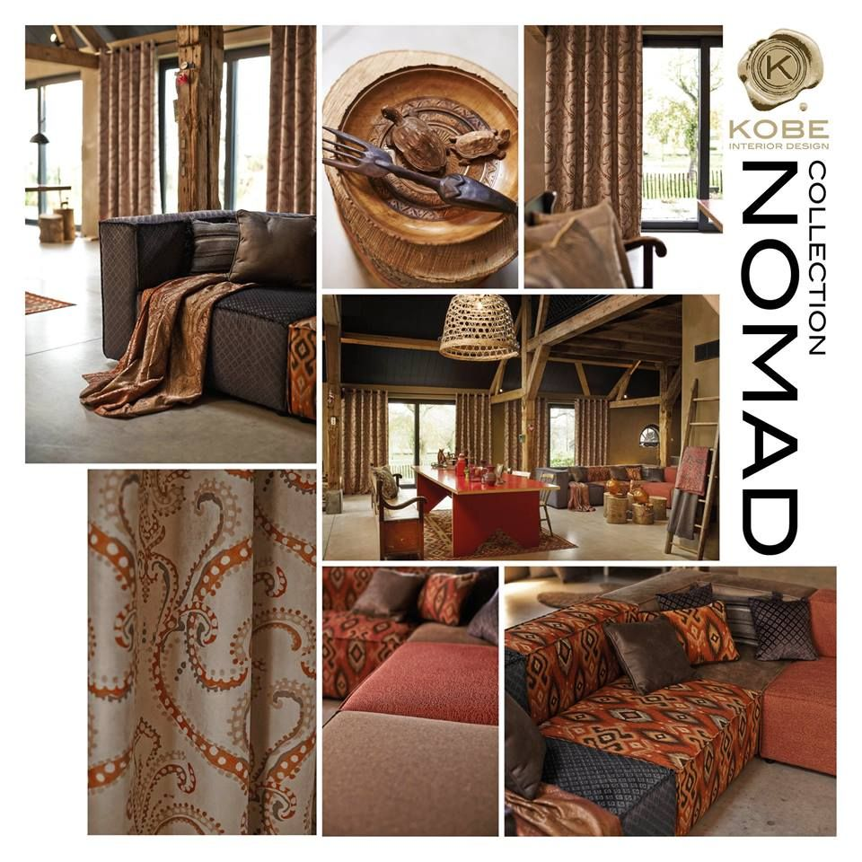 Kobe Nomad Collection Lively Interiors Inspired By The Ingenuity And Creativity Of A