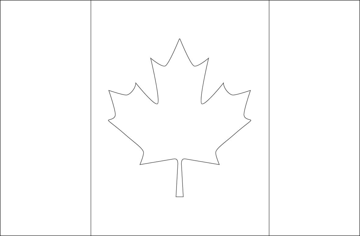 Canada Flag Coloring Page Google Search Flag Coloring Pages
