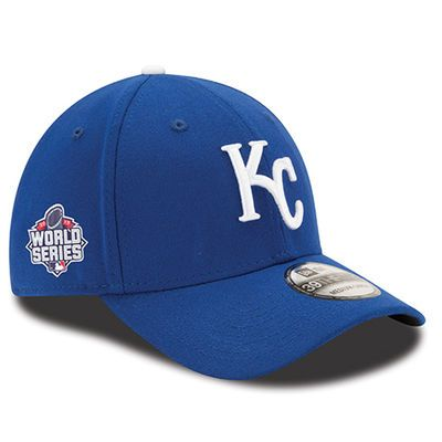 0ee2c89f Kansas City Royals New Era 2015 World Series Side Patch Team Classic  39THIRTY Flex Hat - Royal. Size L/XL