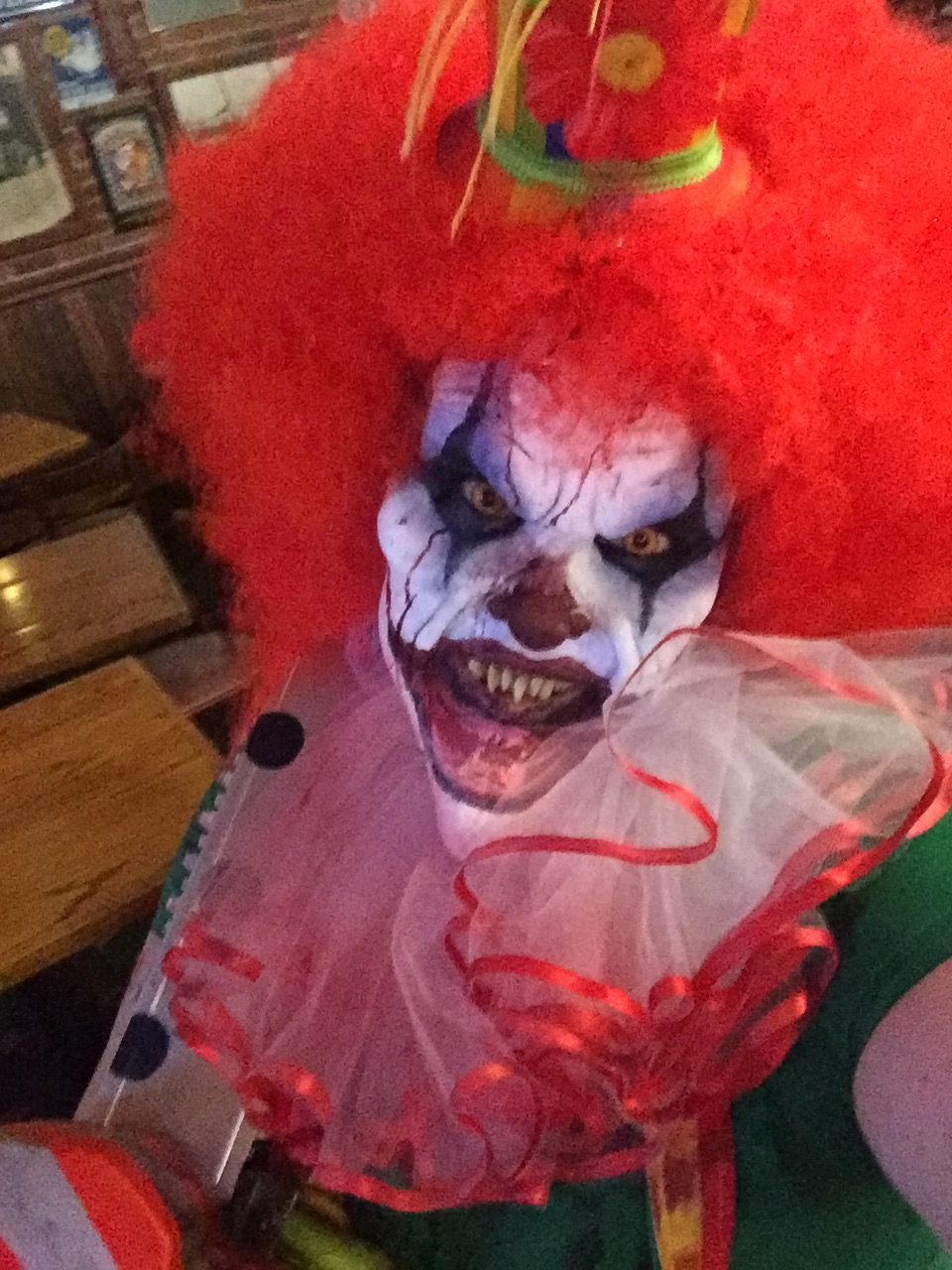 Scary clown makeup Evil Clowns