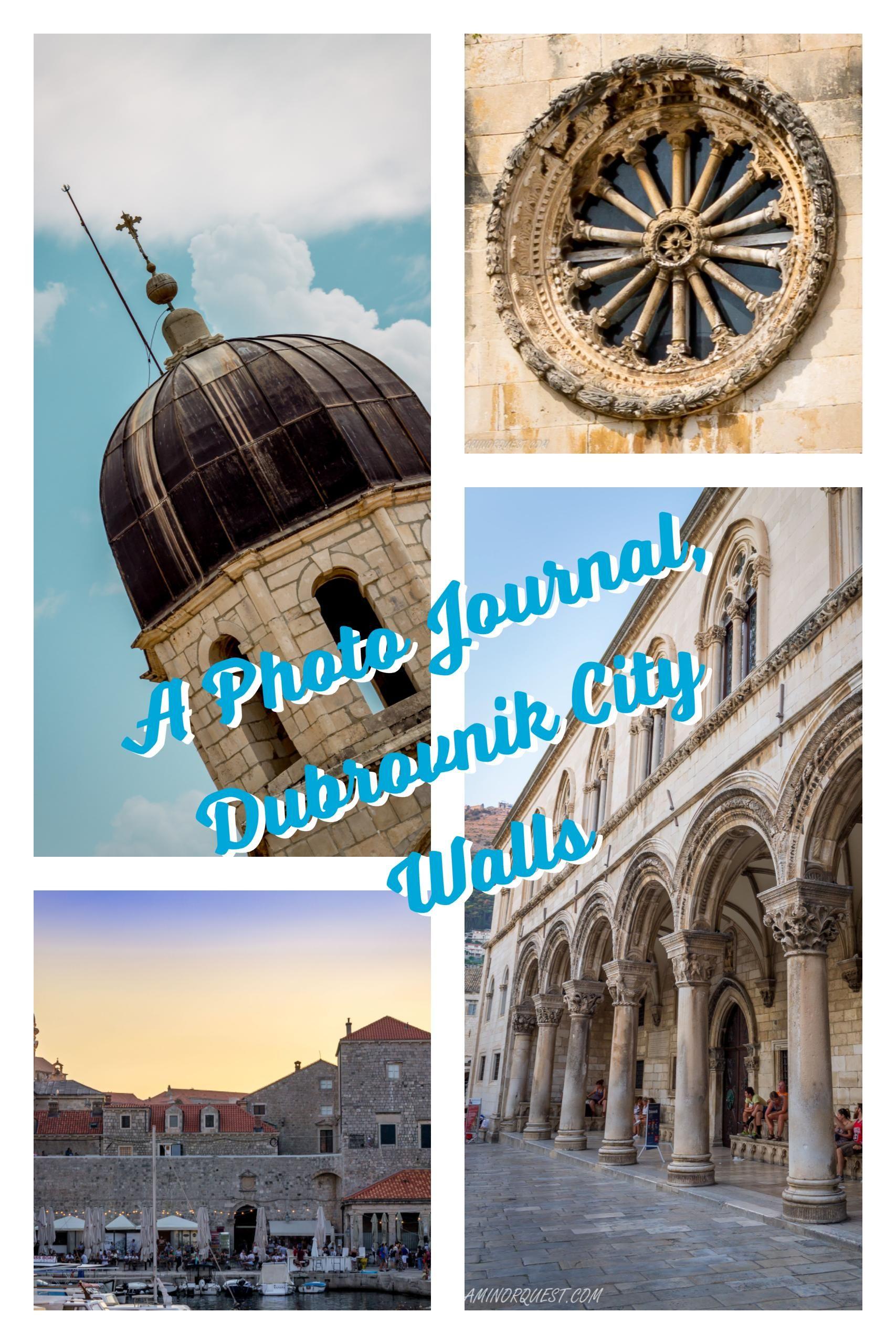 Dubrovnik, croatia unique perspective inside the city walls. www.aminorquest.com