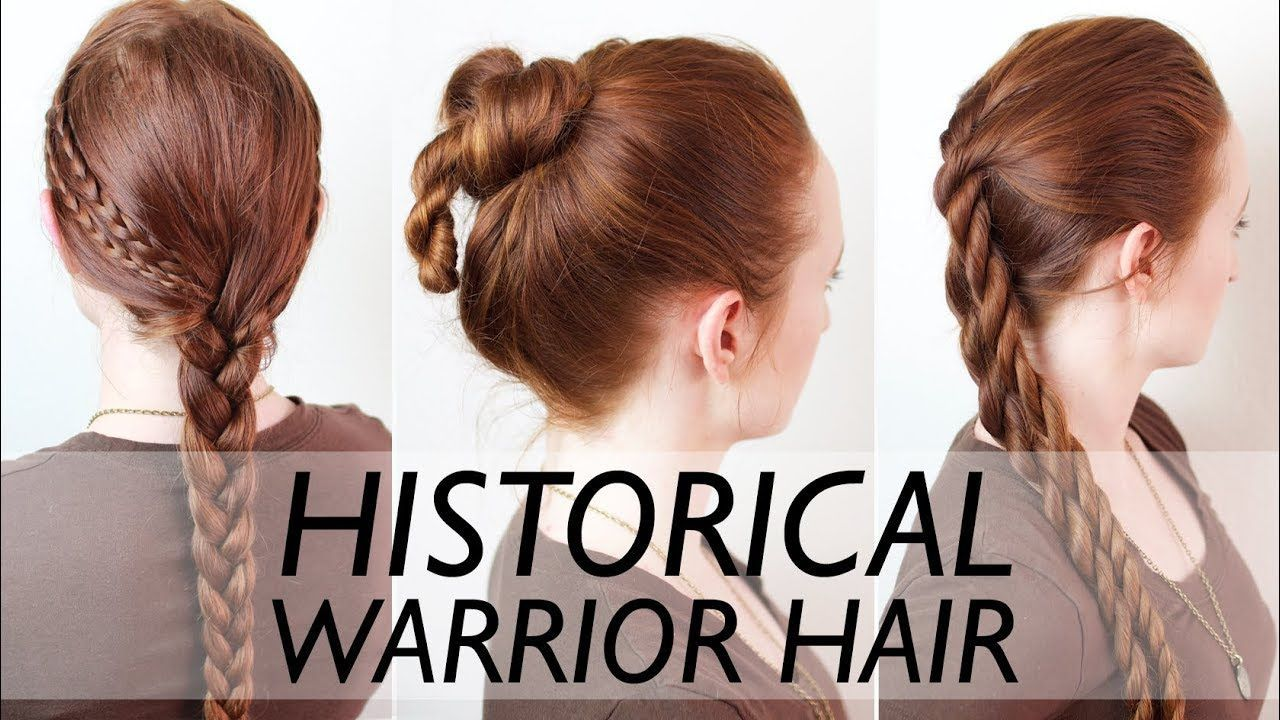 Swabian Knot Middle Works On My Hair Real Ancient Warrior Hairstyles For Men Vikings Suebian Knot Historical Hairstyles Mens Hairstyles Easy Hairstyles