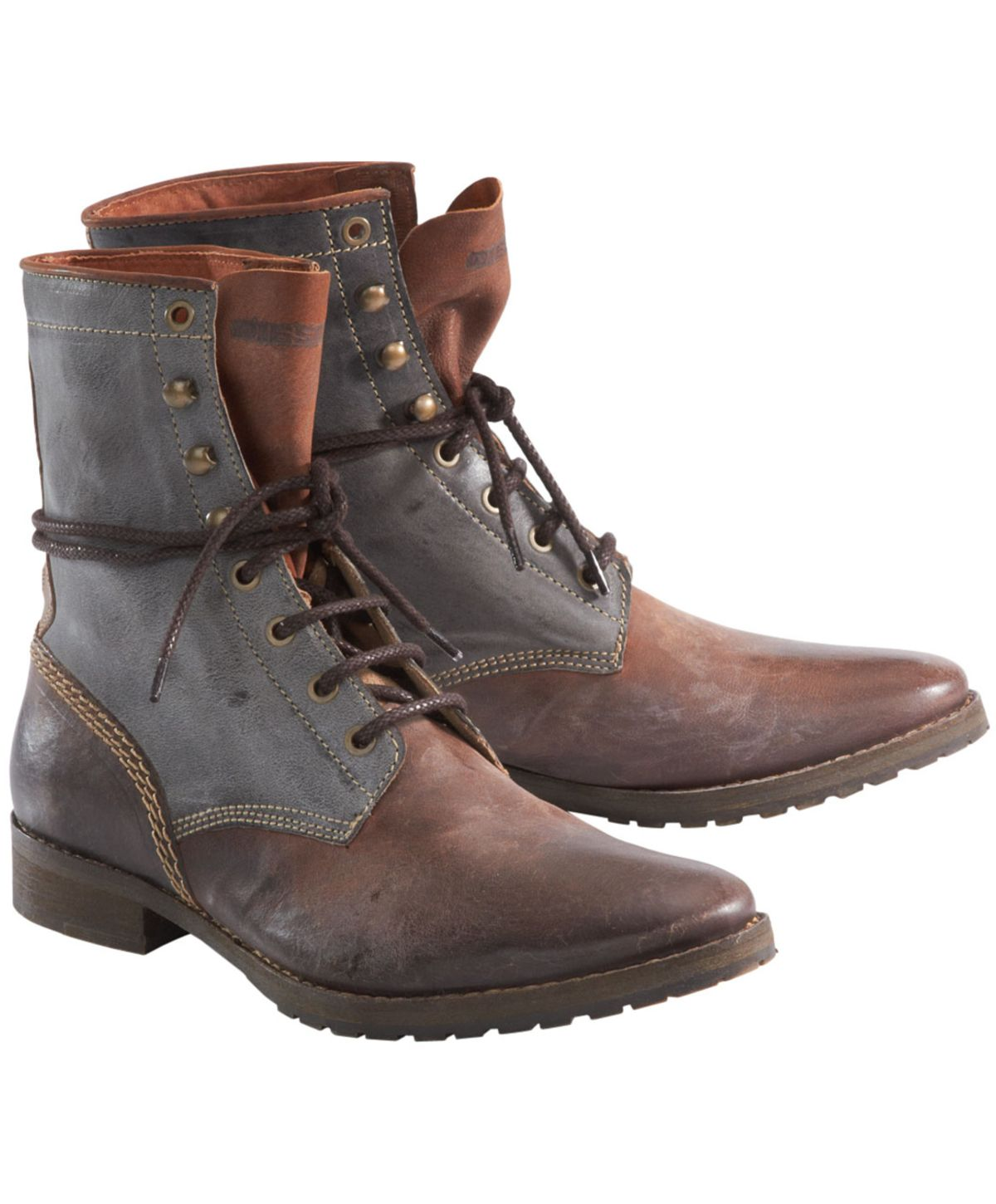 DIESEL Men's Leather Boots | Mens Shoes & Boots | Pinterest ...