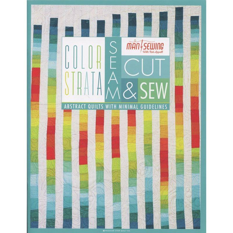 Color Strata Book Quilts, Quilt tutorials, Quilting