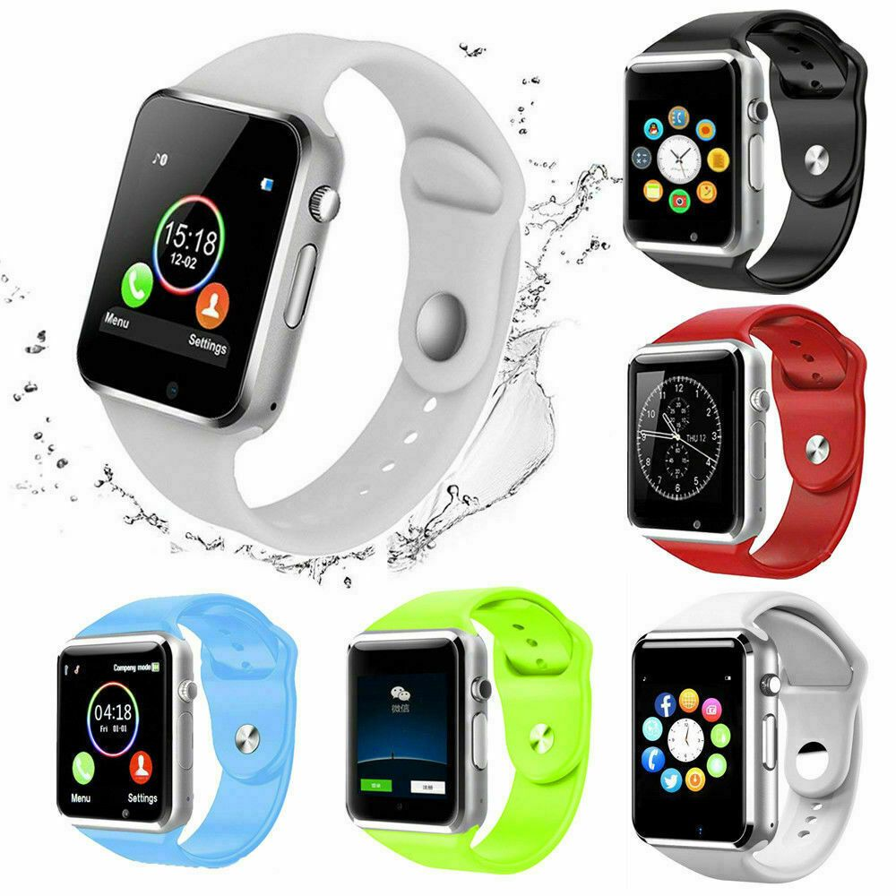 Bluetooth Smart Wrist Watch A1 GSM Phone For Android