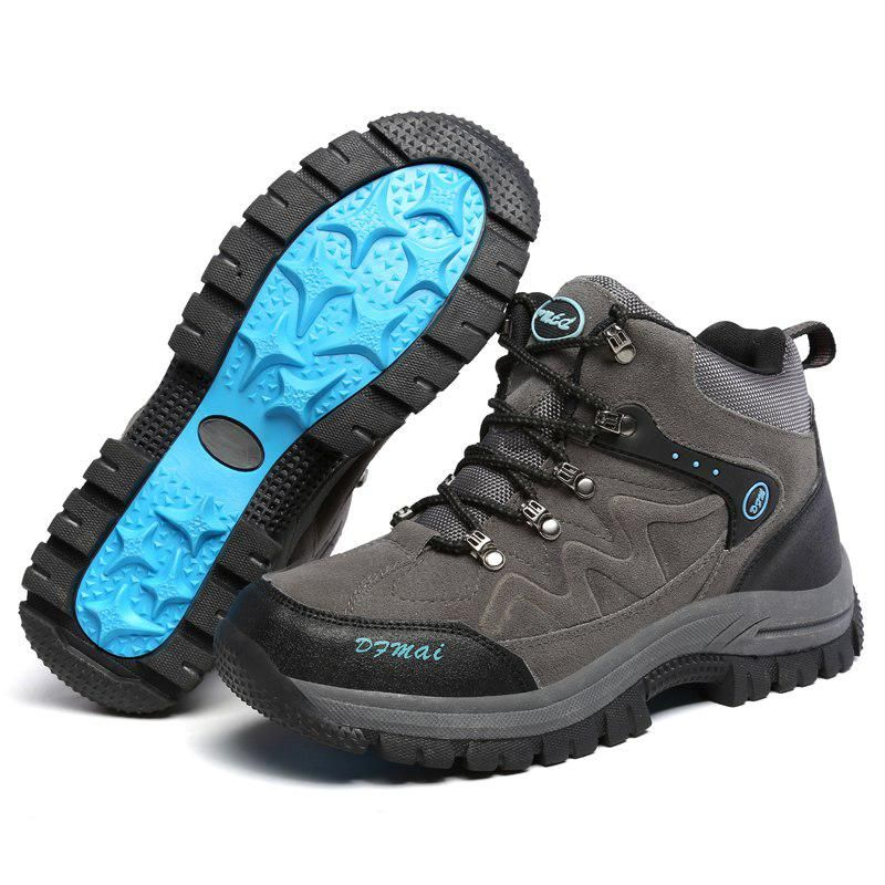 Outdoor Men/'s hiking closed toe genuine leather climb antiskid sandals plus size
