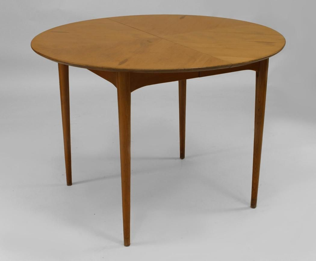 Post War Design Scandinavian table dining table wood