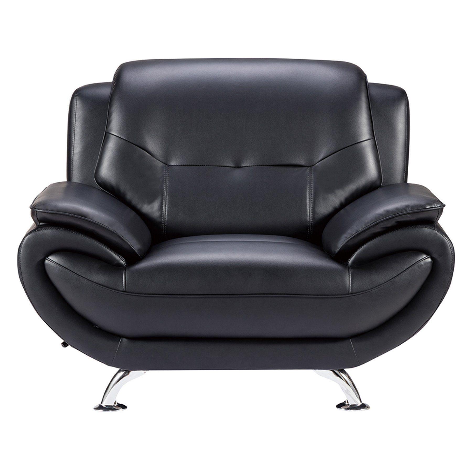 American Eagle Furniture Highland Home Sofa Chair AE208 BK CHR