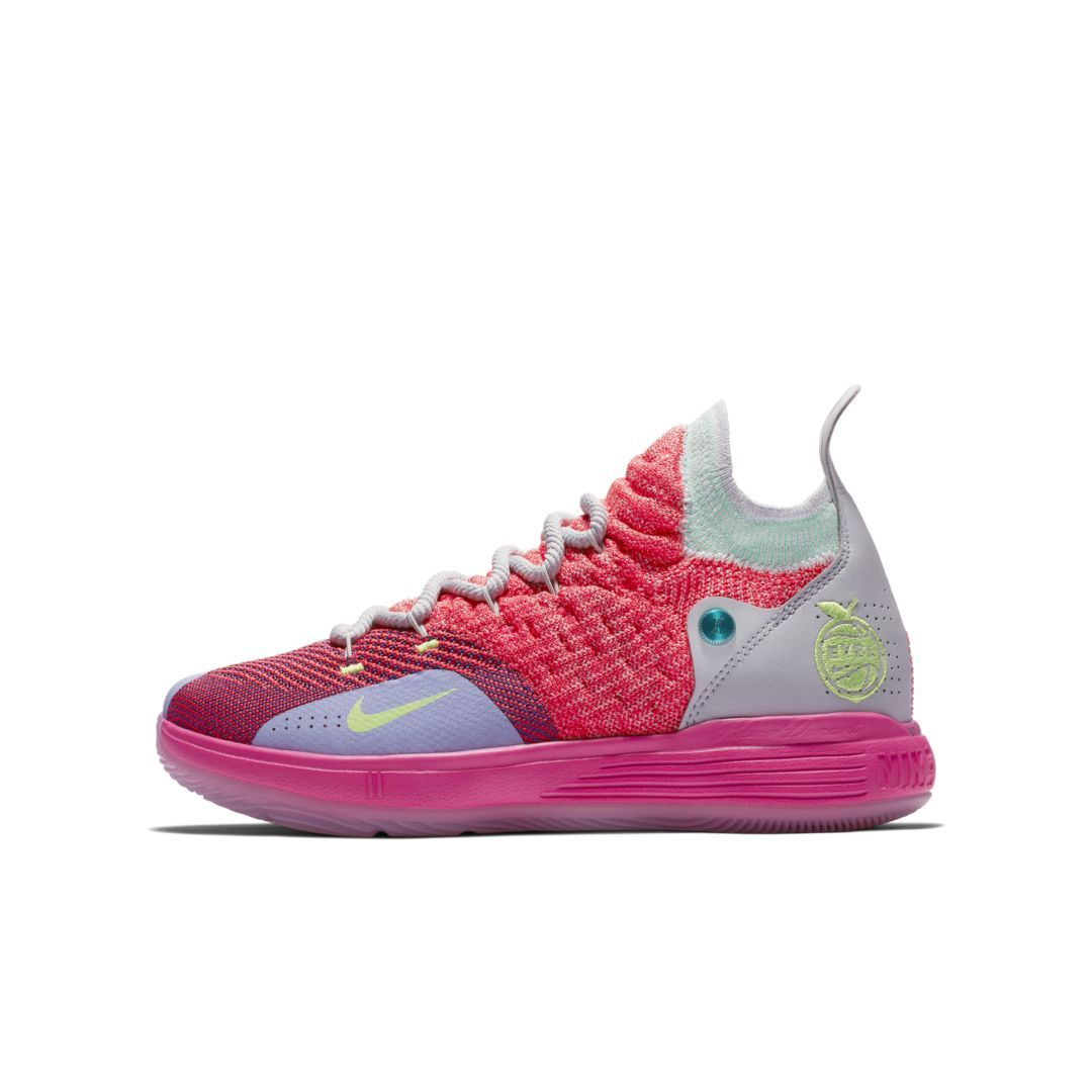 8b5bcd4ac50c Nike Zoom KD11 Big Kids  Basketball Shoe Size 6.5Y (Hot Punch ...