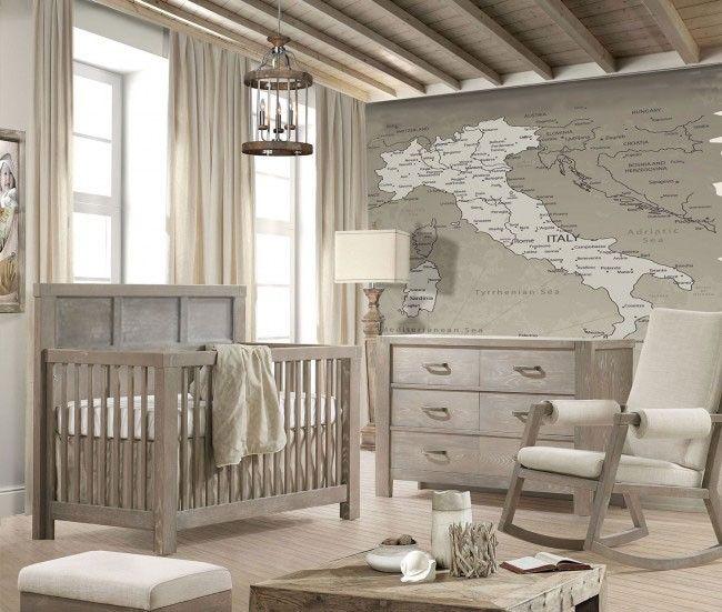 Best Natart Rustico 2 Piece Nursery Set Crib And Double Dresser 640 x 480