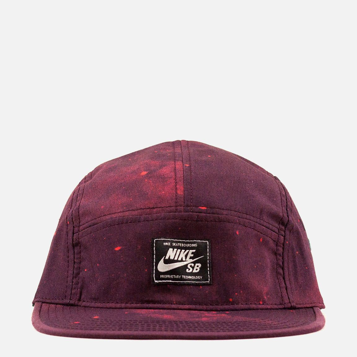73ac063981b Nike SB Galaxy 5 Panel Cap - Red | Bonés