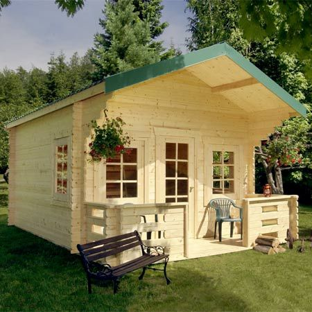 Superb The Ranger Cabin Kit Is A Spacious 14u0027 X 20u0027 Cottage, Ready To Home Design Ideas