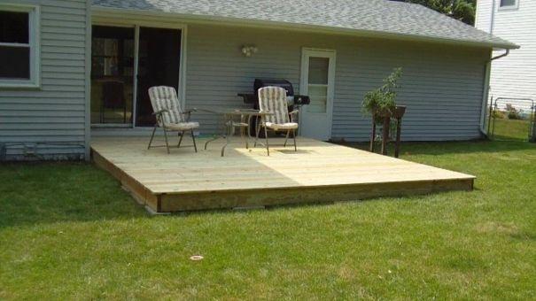 terasa din paleti wood pallet deck ideas 1 palee›i pinterest